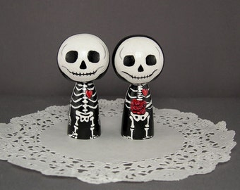 Skeleton Wedding Toppers