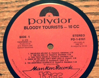 Bloody Tourists 10cc Coaster
