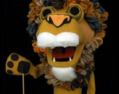 Lamar the Lion is so Lovable!  HAND PUPPET