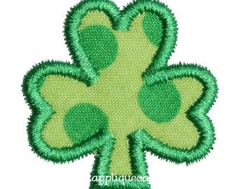 440 Mini Shamrock Embroidery Applique Design