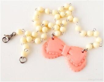 Little Bow Necklace, Sweet Lolita, Kawaii