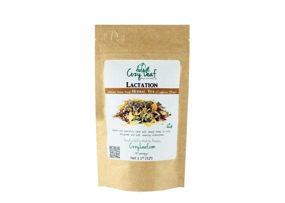 Lactation Blend for Nursing Mommy Artisan Organic Loose Leaf Tea by Cozy Leaf