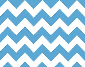 Riley Blake Medium Chevron Blue