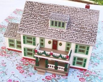 SALE - Sarah, Plain and Tall House, Maine Home, 1994, plastic, decor
