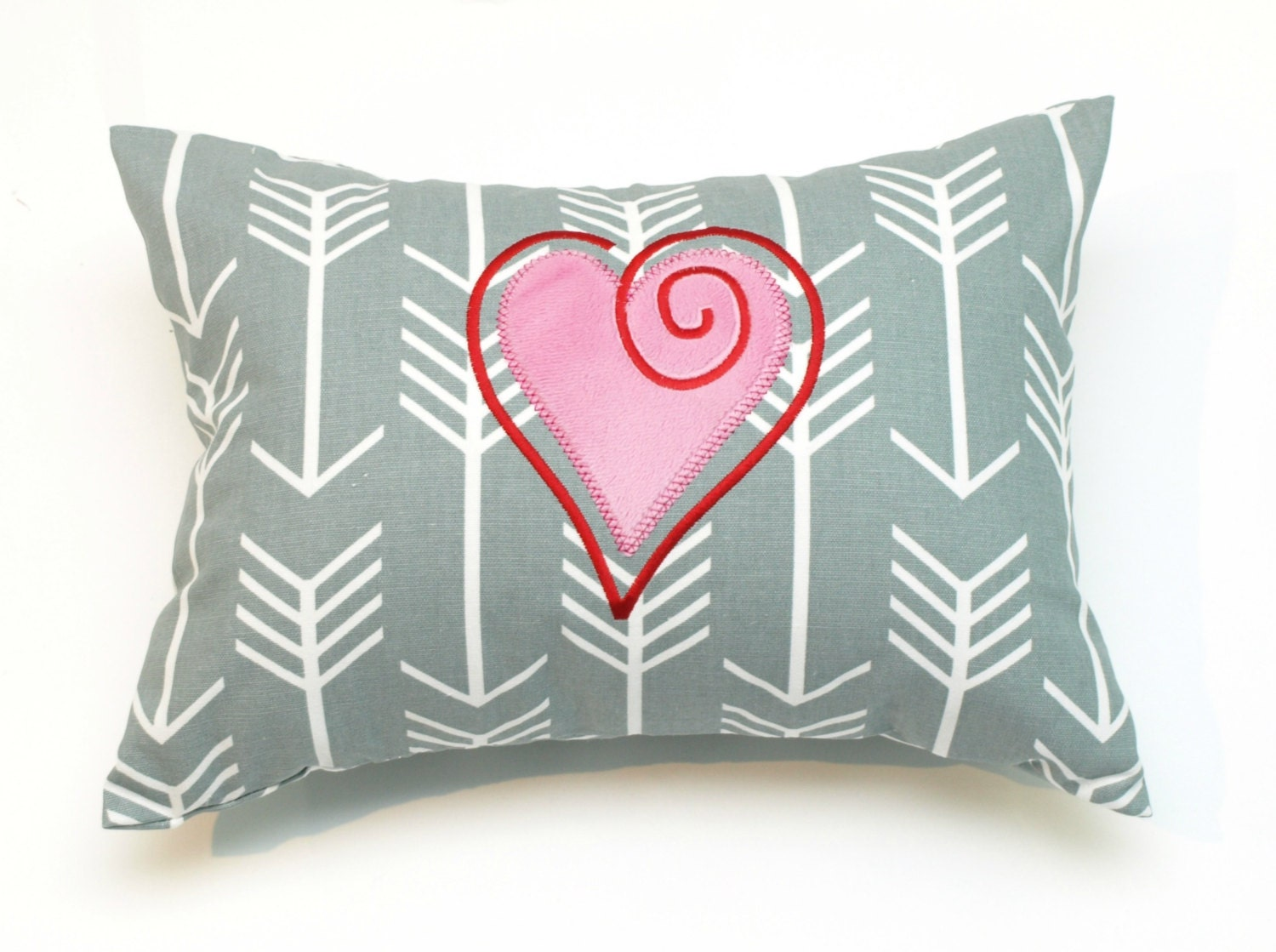 Decorative Valentine Pillows : Valentine Decorative Throw Pillow Cover for Julie Addington