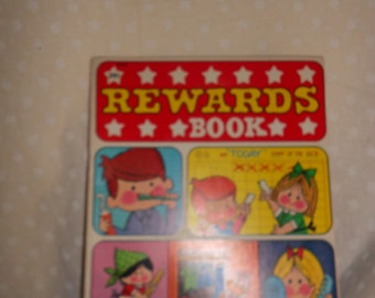 Rewards book with stickers