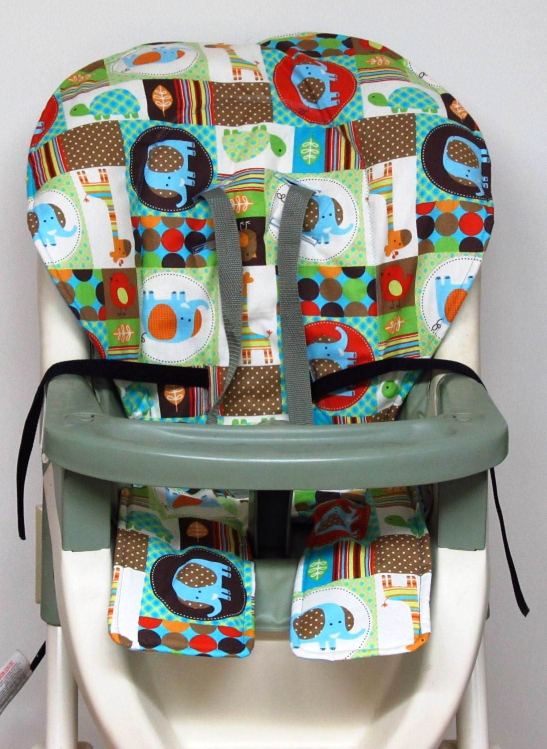 High Chair Cover Graco Pad Replacement Patchwork Pals