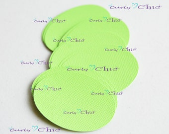 "60 Oval Cardstock Die cut Size 2"" -Oval tags -Oval paper tags -Oval shape die cut -Oval labels -Paper tags -Paper labels -Cardstock die cut"