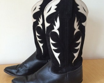 Leather and Suede Boots Sz 9 Women's