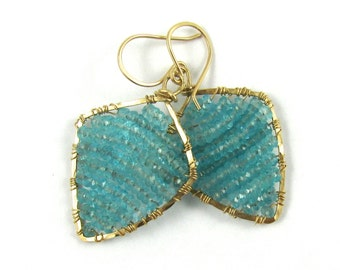 Aqua Blue Apatite