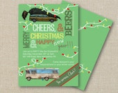 Christmas Party Invitation - Griswold Style, Christmas Vacation - Ugly Sweater (digital printable)