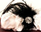 Dupioni Silk Glam Garter