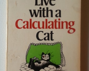 Hilarious Vintage 1970s Cat Ownership Manual-How to Live With a Calculating Cat