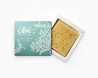 The Olive Bar- Sweet Fennel Bar Soap