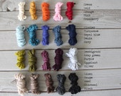 Yarn samples - up to 5 colors