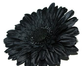 Black Daisy - Arificial Flowers, Silk flowers, Flower Head