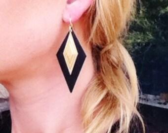 On sale Diamond Layer earrings