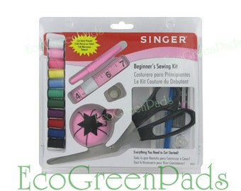 SALE Singer Beginner Sewing Kit, Start Up Sewing Kit, Singer Sewing Kit, Child sewing kit, First sewing kit, Singer 1512 Sewing Kit,