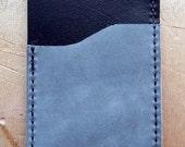 Custom front pocket wallet for Gustavo