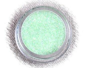 Sea Green Disco Glitter, Mint Green Disco Glitter, Non Edible Confectionary Glitter, Gumpaste Glitter, Fondant Glitter, Light Green Glitter