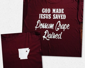God made Jesus saved town raised