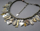 Virgin of Guadalupe Ex Voto.. Milagro Blessing Necklace