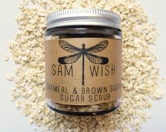 Oatmeal & Brown Sugar Scrub // Small // Organic