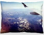 Decorative Landscape Pillow - Cascade Mountain Range