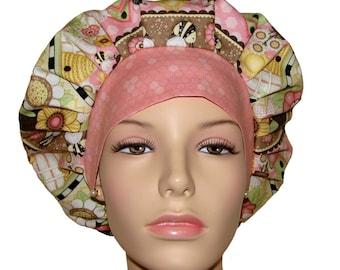 Scrub Hats - Let It Bee Wide Stripe