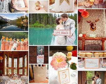 Orange Neckties, Custom Neckties, Orange Wedding Neckties, Mens Neckties, Weddings
