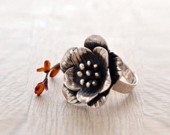 In Bloom Sterling Ring