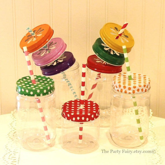 plastic mason jars 100 mason jars with lids plastic mason cups