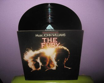FINAL SALE Vinyl Record Album The Fury Original Soundtrack LP 1978 Supernatural Horror Halloween John Williams
