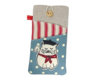 Cat iPhone 6S Case, iPod 6G, iPhone 6S Plus Case, Cute iPhone Case, iPhone 6 Plus Cover, 6S Plus Sleeve, iPhone 6 Cover, Kawaii iPhone Case