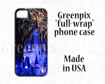 Disney iPhone 7 case, Disney iPhone case, iPhone 6, iPhone 6S, iPhone 6 6S Plus, iPhone 7 Plus, iPhone 5 5S 5C SE, Castle, Fireworks