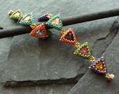 Tiny Triangles (bracelet) and Big Sister (pendant)/ pdf