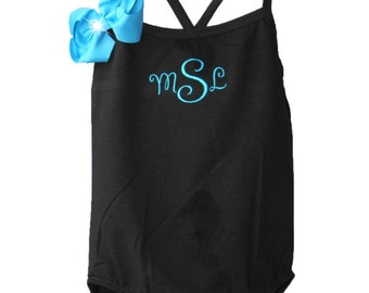 Custom Boutique Monogrammed Leotard Design Your Own