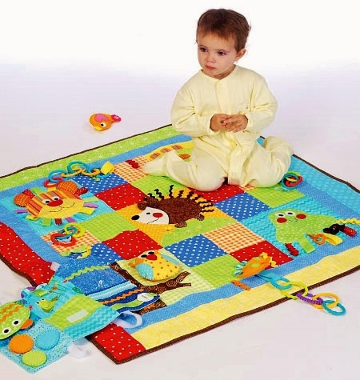 Wee Ones' Play Quilt Pattern Baby Play Mats Pattern : quilted play mat baby - Adamdwight.com
