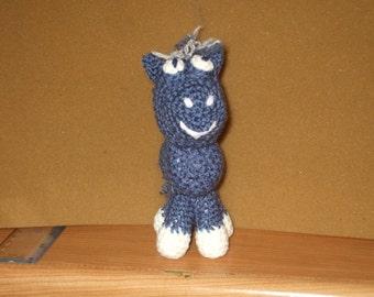 crocheted horse - pony