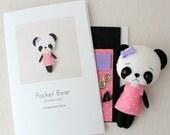Bamboodle Pocket Bear Pattern Kit