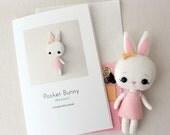 Marzipan Pocket Bunny Pattern Kit