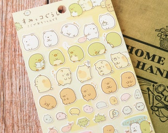 02 Sumikkogurashi Cute Animals scrapbooking stickers