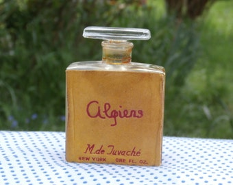 Limited Edition Tuvache Algiers Perfume Bottle with Some Perfume, 1940s Scent