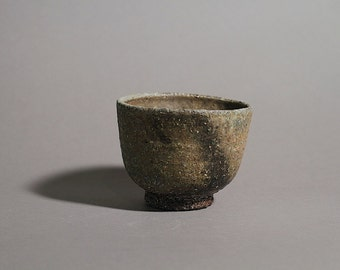 Anagama fired tea bowl