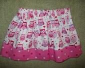 Girls Owl and Heart Skirt