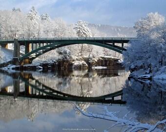 Narrowsburg Bridge, January 1st, 2008