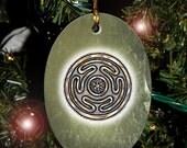 Hecate's Wheel, Strophalos, Yule Ornament