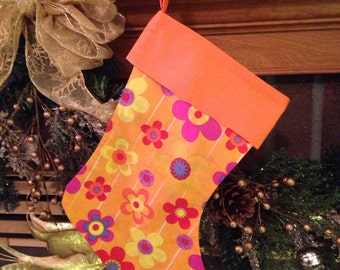 Have yourself a Groovy little Christmas Stocking