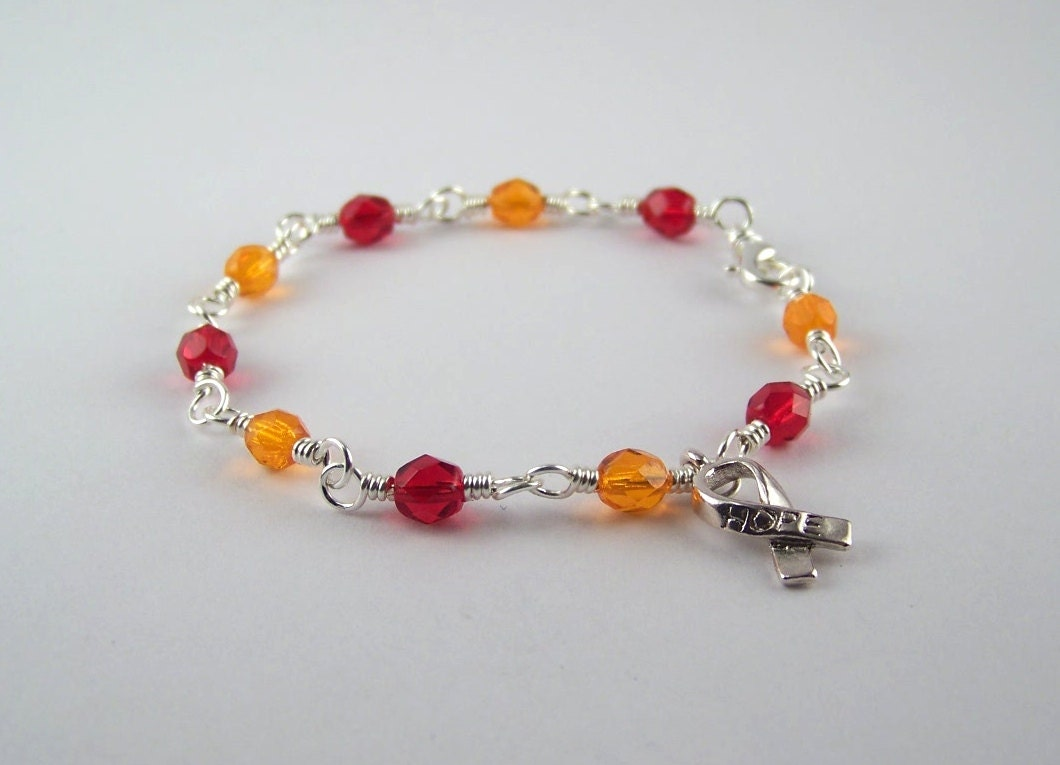 Essential Thrombocythemia Awareness Bracelet