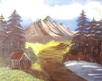9 x 12 Oil Landscape Painting
